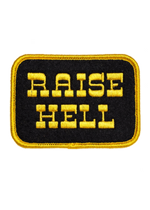 Raise Hell Embroidered Patch - Tigertree