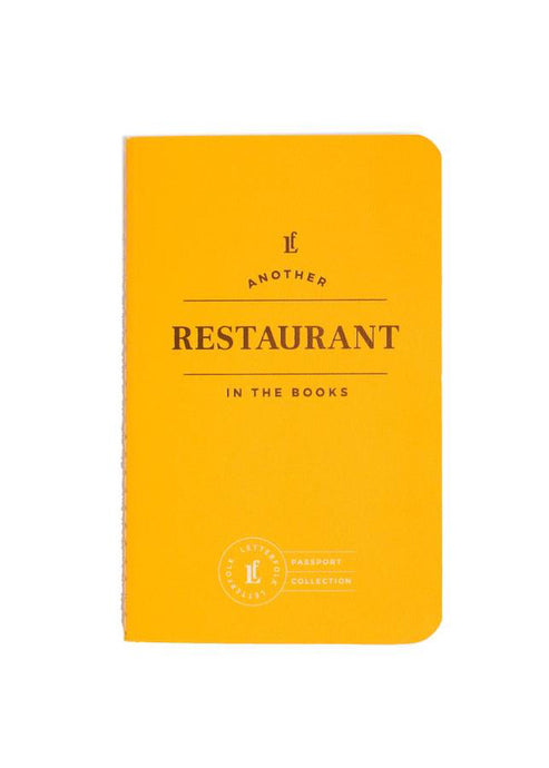 Restaurant Passport - Tigertree