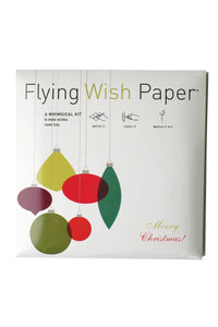 Retro Ornaments Large Flying Wish Paper - Tigertree
