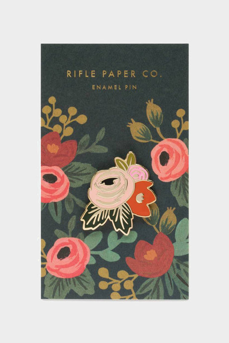 rosa enamel pin rifle paper co