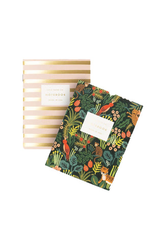 Pair of Pocket Notebooks- Jungle