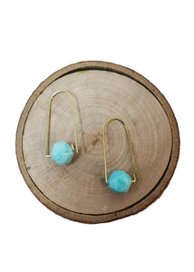 Simply Amazonite Earrings - Tigertree
