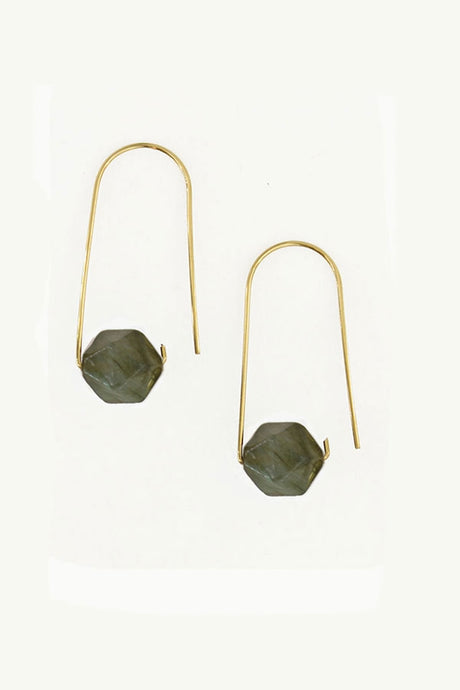 Simply Labradorite Earrings - Tigertree