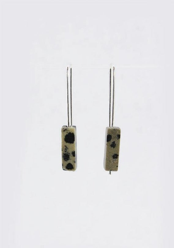 Staple Dalmation Jasper Earrings - Tigertree