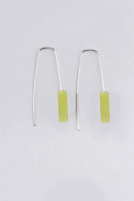Staple Lemon Jade Earrings - Tigertree