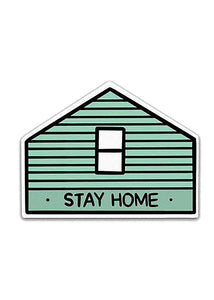 Stay Home AF (House) Sticker