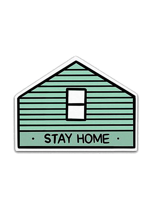Stay Home AF (House) Sticker - Tigertree