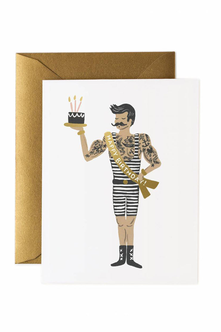 rifle paper co strongman card