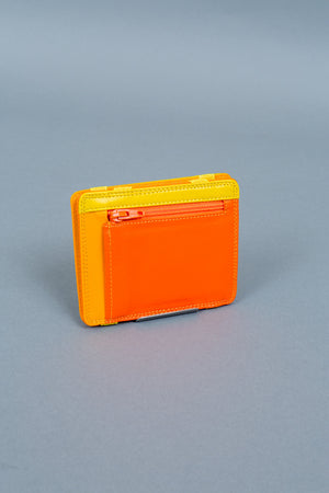 Yellow magic wallet rear