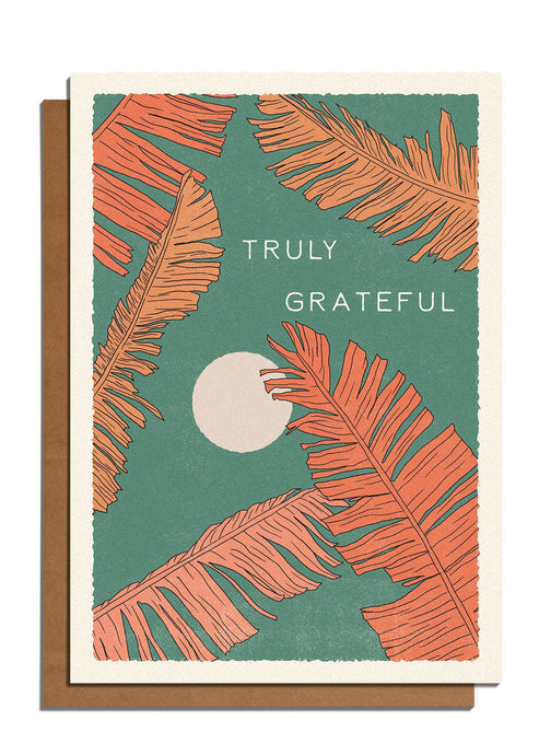 Truly Grateful Card - Tigertree