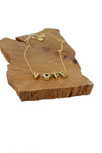 Load image into Gallery viewer, VOTE necklace - Tigertree
