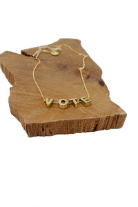 VOTE necklace - Tigertree
