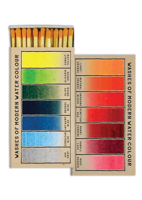 Watercolor Swatches Matches - Tigertree