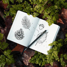 Load image into Gallery viewer, Rain Check Waterproof Notebook - Tigertree