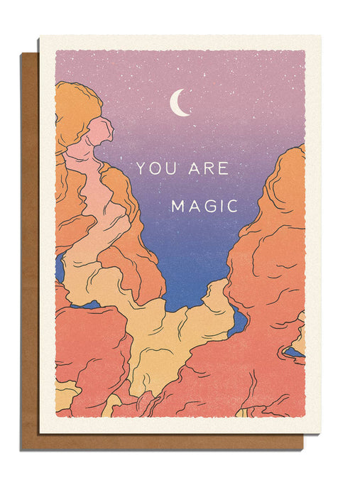 You Are Magic Card - Tigertree