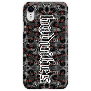 BADVIBESONLY® BADVIBES SKELETONS IPHONE XR CASE (FRONT)
