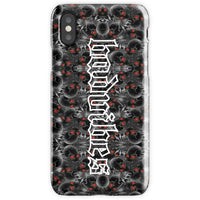 BADVIBESONLY® BADVIBES SKELETONS IPHONE X CASE (FRONT)