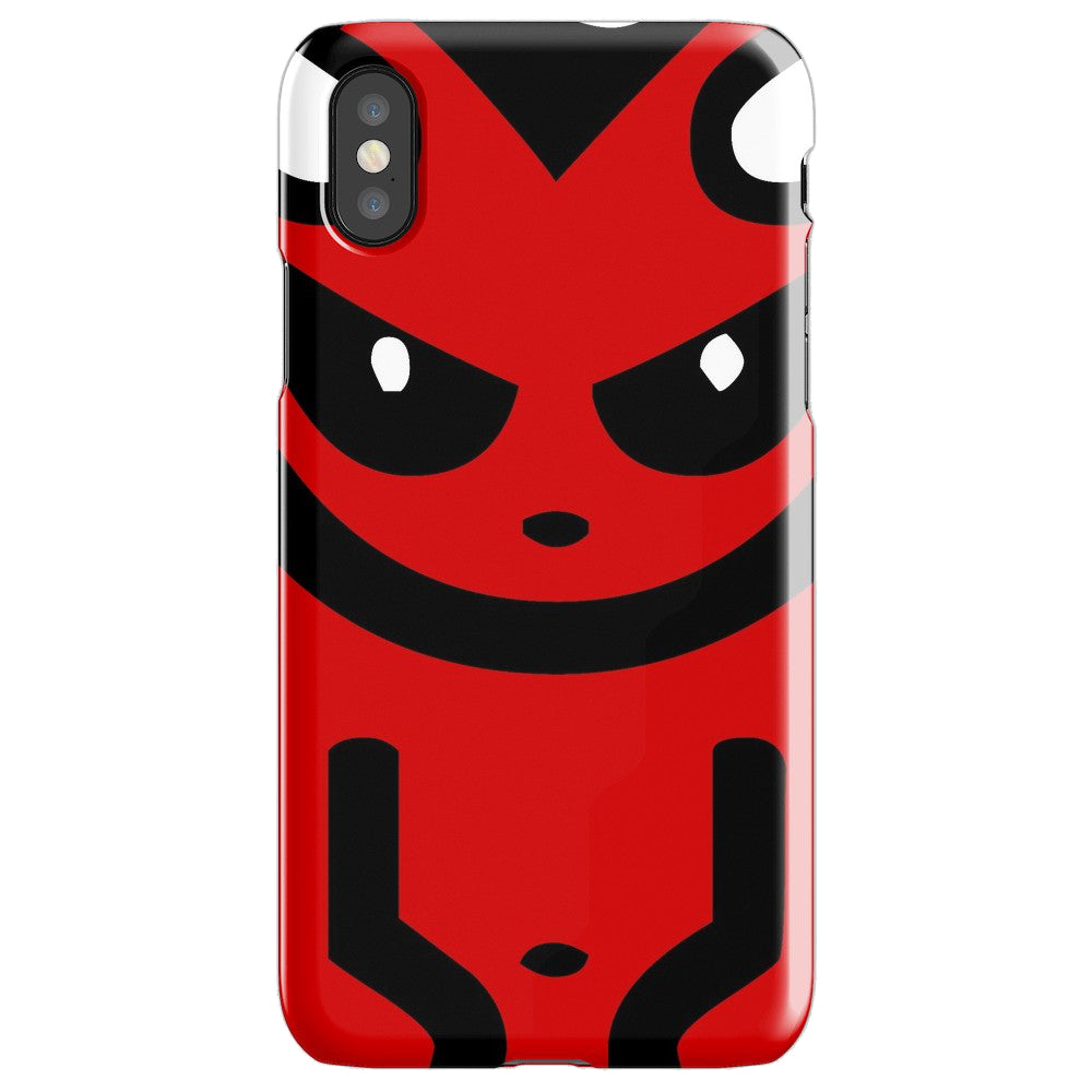 BADVIBESONLY® DEVIL IPHONE X CASE (FRONT)