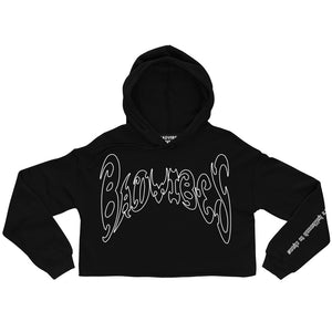 CHAOS CROPPED HOODIE