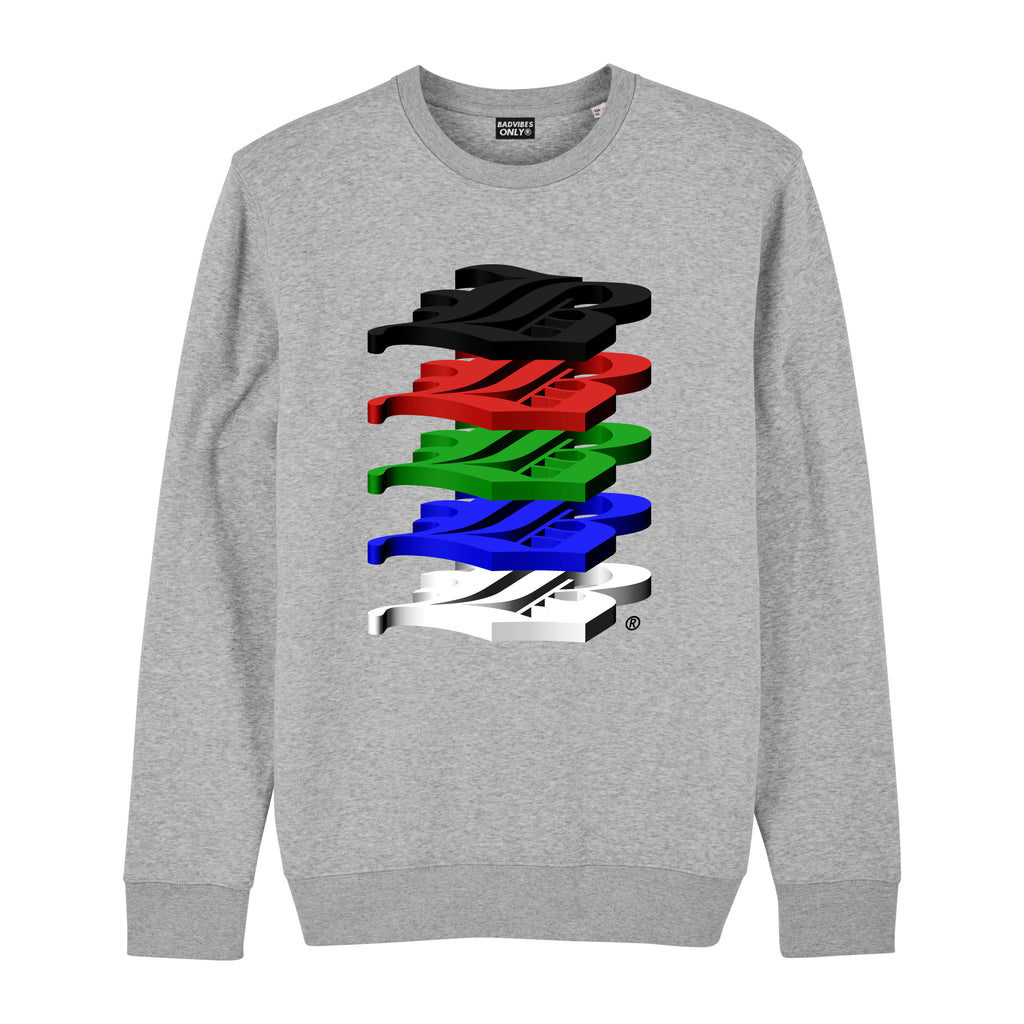 ALTERNATE STACK LOGO SWEATSHIRT