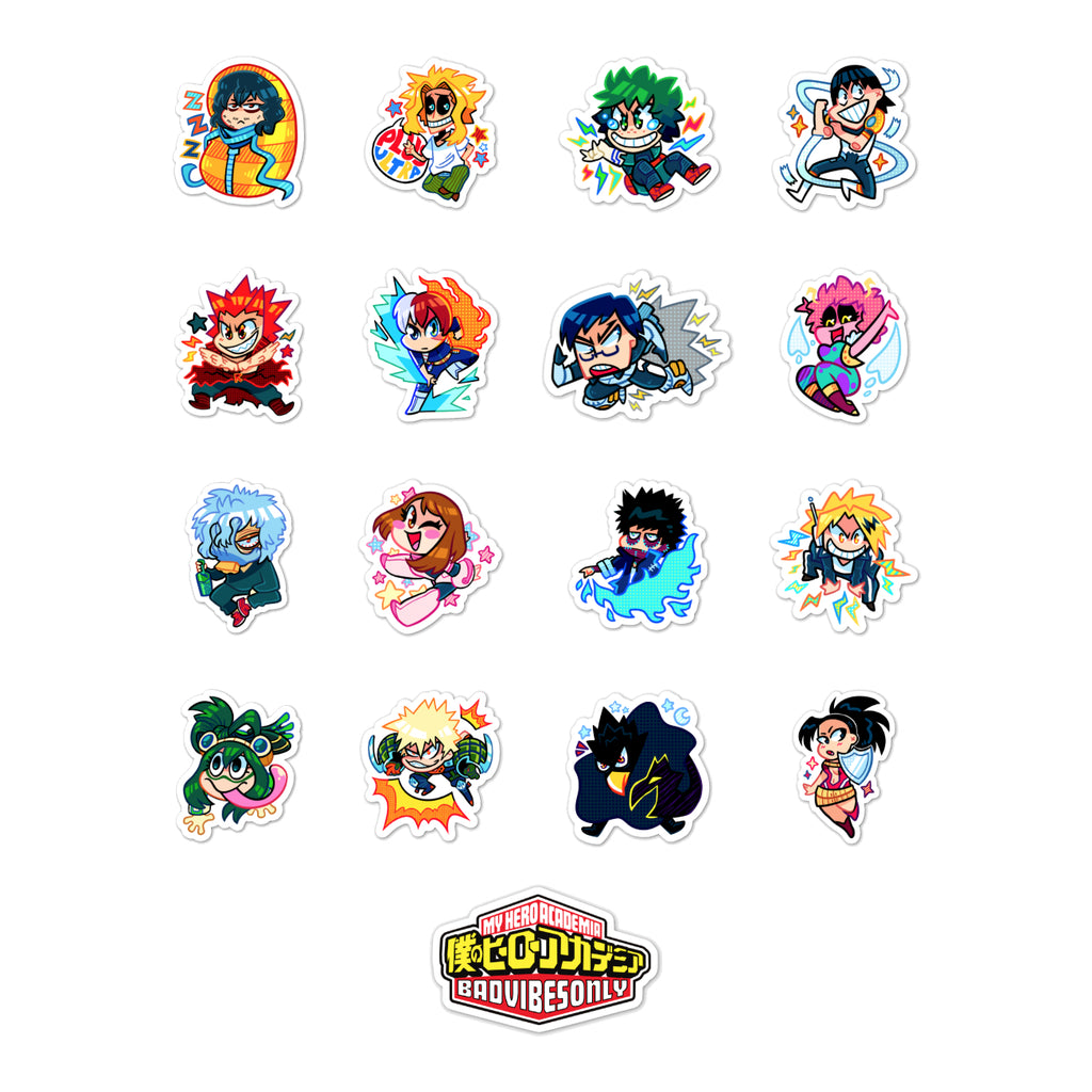 CHIBI STICKER PACK