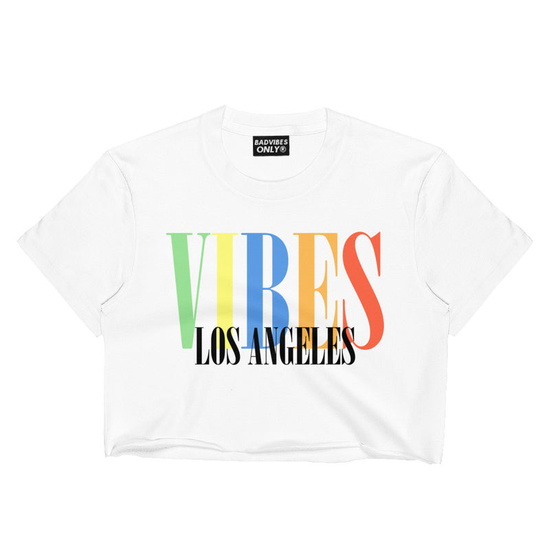 LOS ANGELES CROP TEE