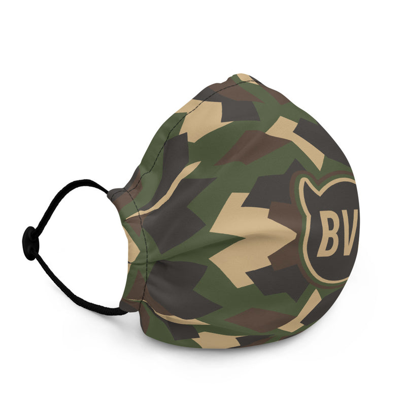 BVO GREEN CAMO FACE MASK