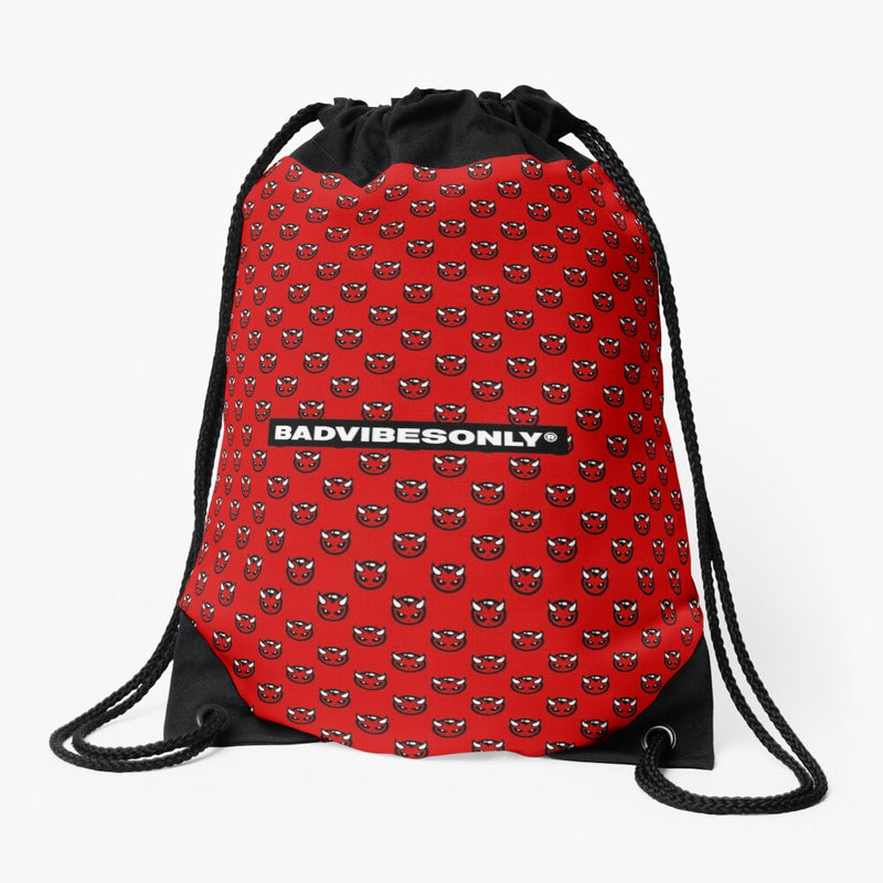 BADVIBESONLY® DRAWSTRING BAG