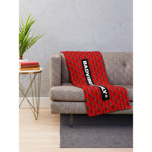 BADVIBESONLY® THROW BLANKET