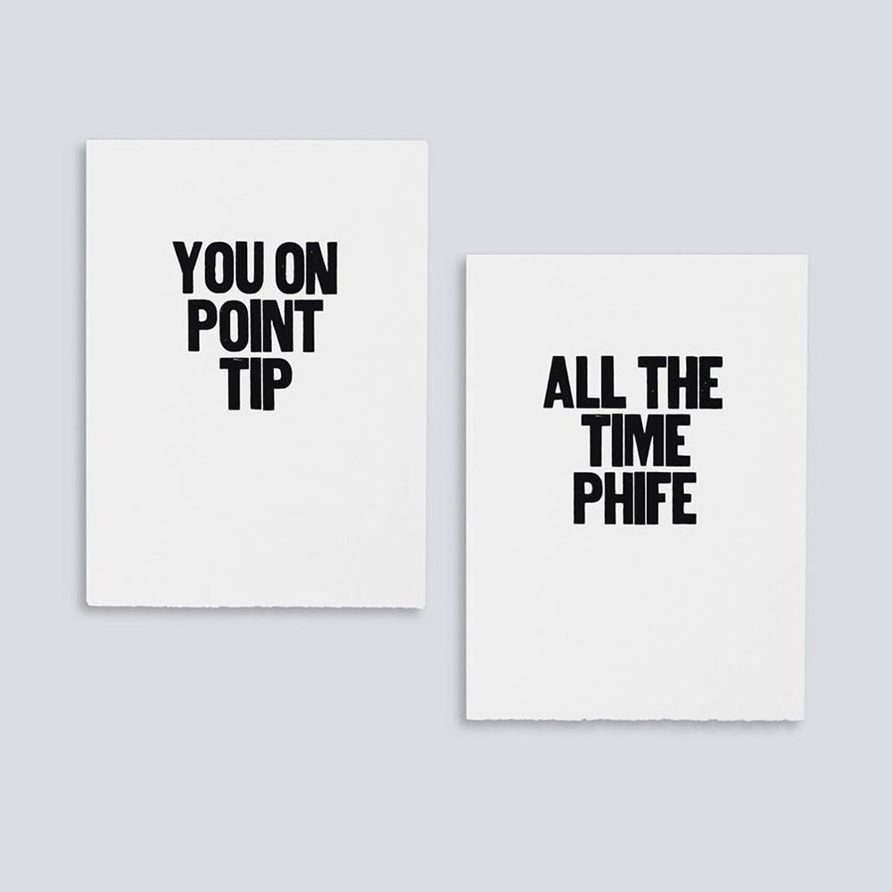The woods Paper Jam Press Rap Lyrics poster printswoman printmaker Tribe Called Quest You on Point Tip All the Time Phife