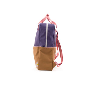Large Colour Block Backpack
