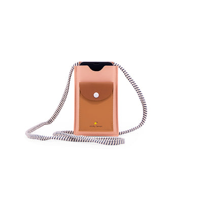 The Woods Sticky Lemon recycled plastic bottle backpacks iphone phone mobile pouch holder bag purse