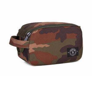 Shop The Woods parkland valley pouch travel packing bag recycled plastic sustainable environmental camo camoflage