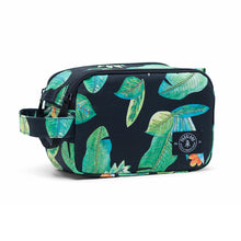 Shop The Woods parkland valley pouch travel packing bag recycled plastic sustainable environmental black green palm leaves jungle