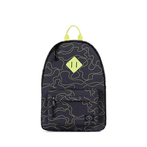 parkland recycled plastic herschel kids school backpack shadow camo camouflage black neon boy boys baby babies audrey and olive maternity clothes shop the woods san francisco