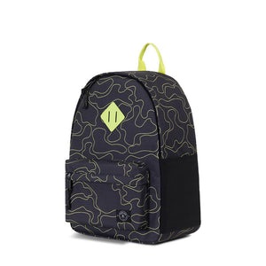 parkland recycled plastic herschel kids school backpack shadow camo camouflage black neon boy boys baby babies audrey and olive maternity clothes shop the woods san francisco bayside