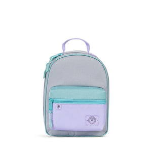 Parkland Rodeo recycled backpack lunch kit badwater grey lavender color block Audrey and Olive The Woods SF
