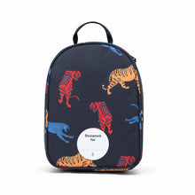 Shop The Woods Parkland Rodeo recycled backpack lunch kit tiger cheetah black