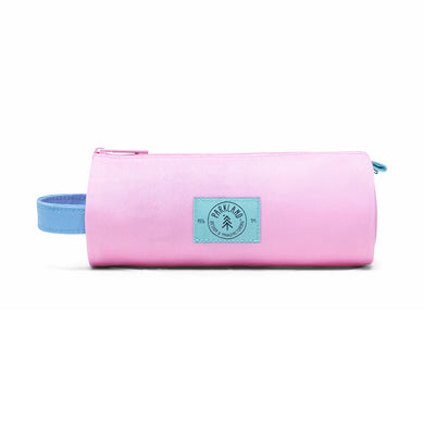 Shop The Woods Parkland Highfield recycled small pouch bag pencil case kids toddler school sustainable environmental pink freeze