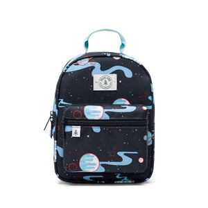 Shop The Woods Parkland Goldie recycled backpack kids toddler sustainable environmental black space universe cosmic nebula night