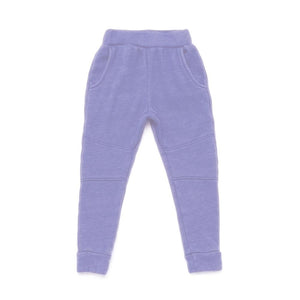 Kira kids jogger pants periwinkle purple kids baby babies audrey and olive maternity clothes shop the woods san francisco