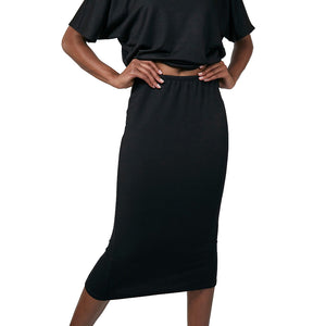 The Woods Taylor Jay midi skirt black woman owned business oakland