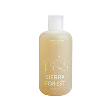 The Woods Juniper Ridge Sierra Forest body wash plant based natural essential oils pine