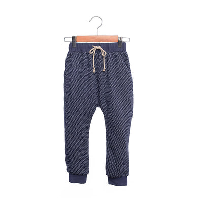 shop the woods kids girls boys baby wander and wonder relaxed sweat pants sweatpants ink dot dark navy blue audrey and olive