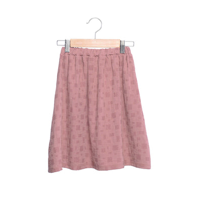 shop the woods kids girls baby wander and wonder gather skirt pink rosehip check audrey and olive