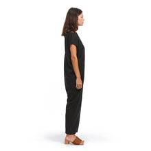 shop the woods miranda bennett everyday JUMPSUIT ROMPER silk noil black linen natural ethical fashion