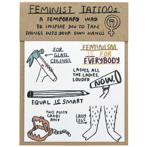People I've Loved feminist tattoos print gift stationery audrey and olive maternity clothes shop the woods san francisco