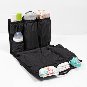 audrey and olive modern trendy maternity clothes - ToteSavvy diaper bag insert shop the woods sf