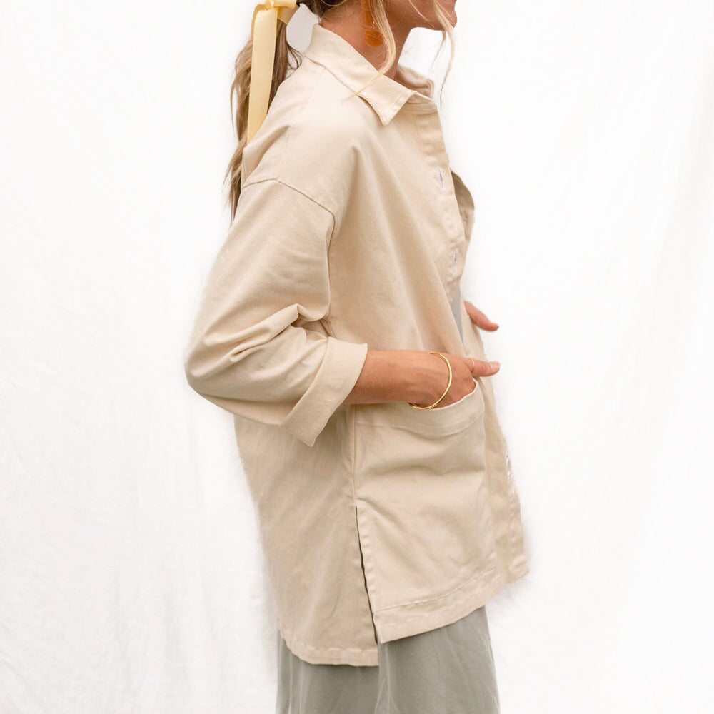 Painters Button Shirt Jacket The Woods