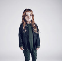 baby kids girls boys stretch cargo hammer drop crotch khaki army green military pants leggings audrey and olive shop the woods sf